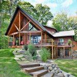 Hayward, WI New Log Home Construction
