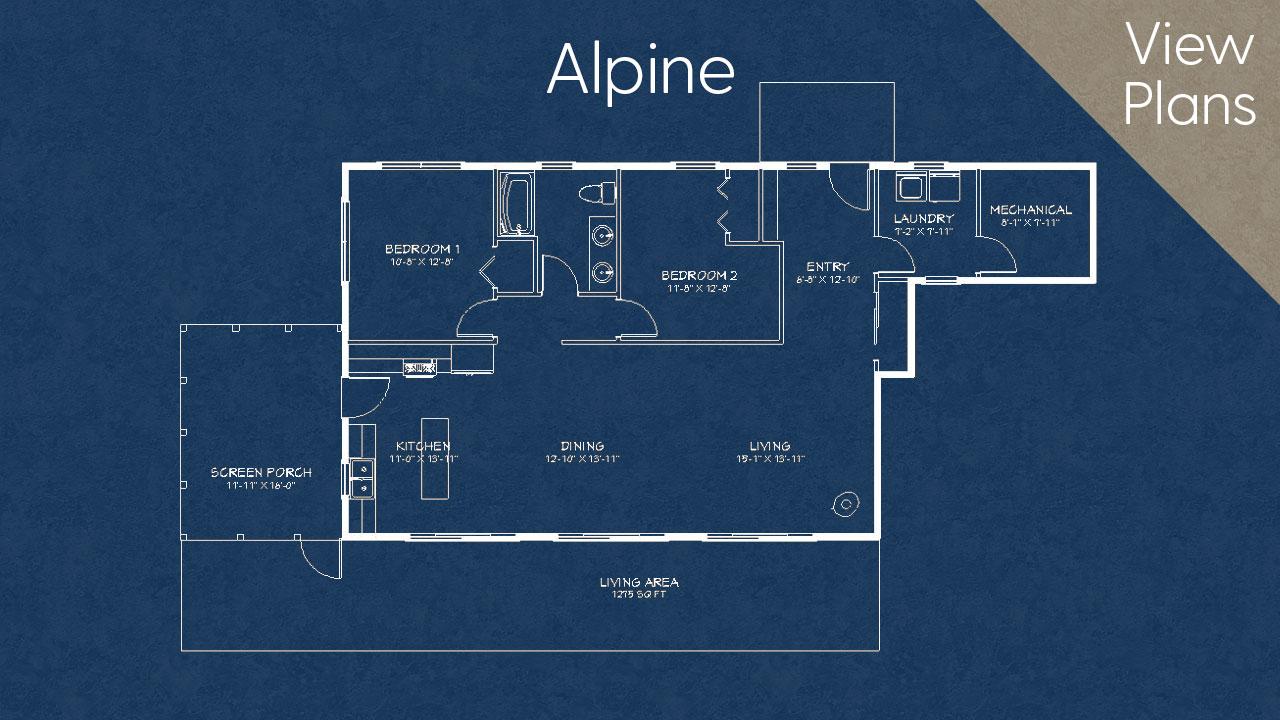 Alpine Home Plan