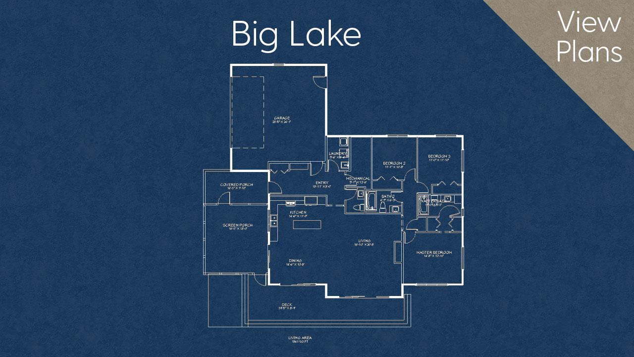 Big Lake Home Design Plan